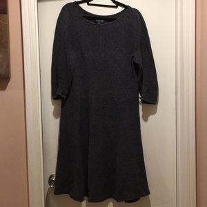 Ralph Lauren Grey sweater dress